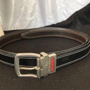 Genuine Dickies leather BCG 44/110 belt